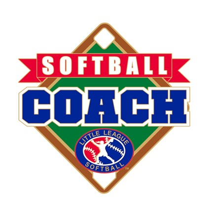 Little League Softball Pin Series - Coach