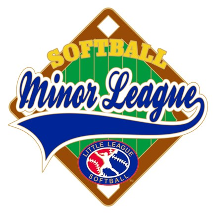 Little League Softball Pin Series - Minor League