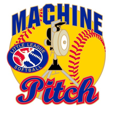 Little League Softball Pin Series - Machine Pitch