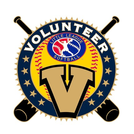 Little League Softball Pin Series - Volunteer
