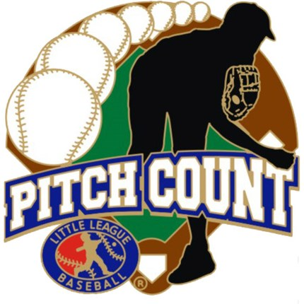 Little League Baseball Pin Series - Pitch Count