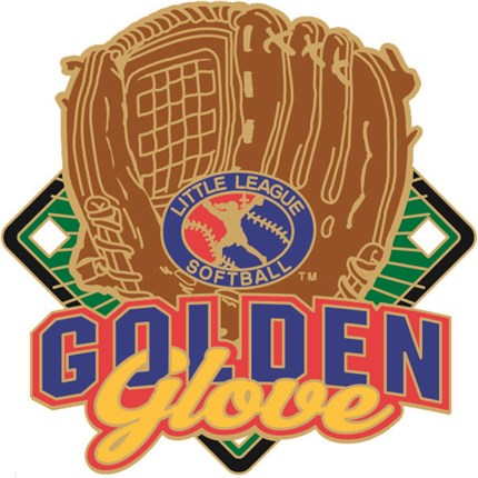 Little League Softball Pin Series - Golden Glove