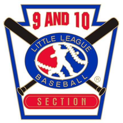 9 & 10 Year Old Baseball Pin Series - Section