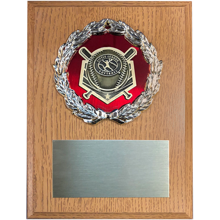 Little League Baseball Plaque Mount Series