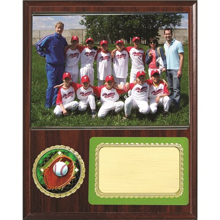 Team Picture Plaque Series - Baseball
