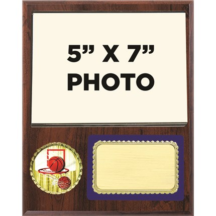 Team Picture Plaque Series - Basketball
