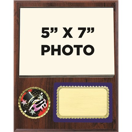 Dance Plaque with Photo and Custom Logo