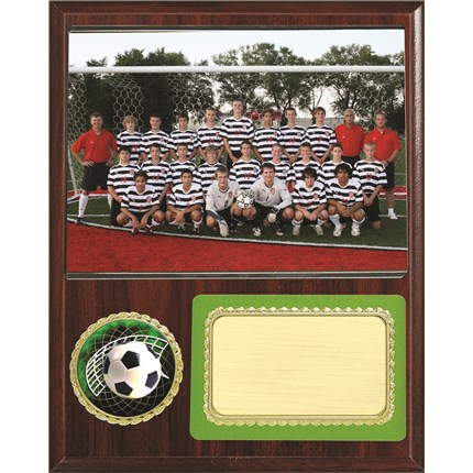 Team Picture Plaque Series - Soccer