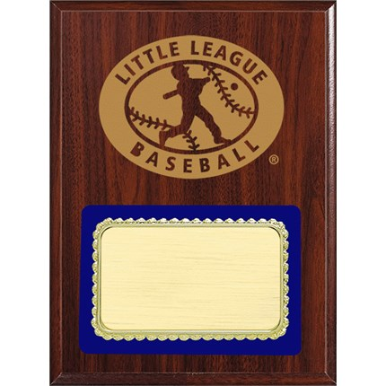 PLQ4 Plaque Series - Little League Baseball