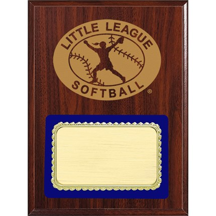 PLQ4 Plaque Series - Little League Softball