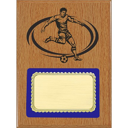 PLQ4 Plaque Series - Soccer