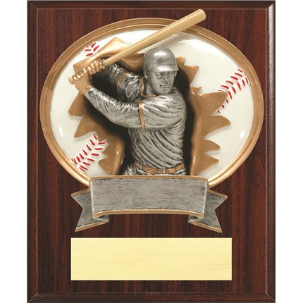 Resin Plaque Series - Baseball