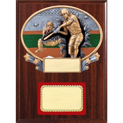 Resin Plaque Series - Softball