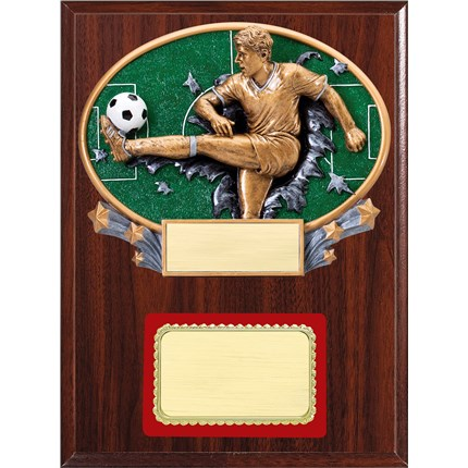 Resin Plaque Series - Soccer, M