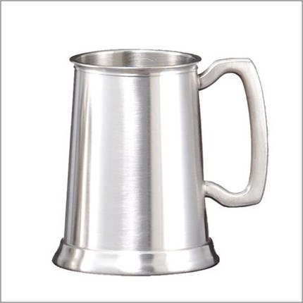 PEWTER MUG - SATIN