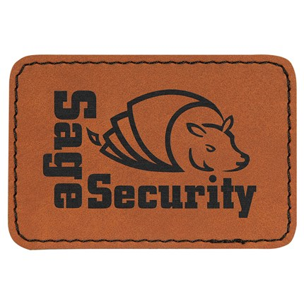 Rawhide Laserable Leatherate Patch
