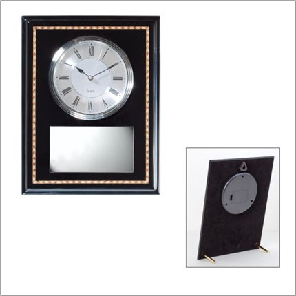 CLOCK - EBONY FINISH