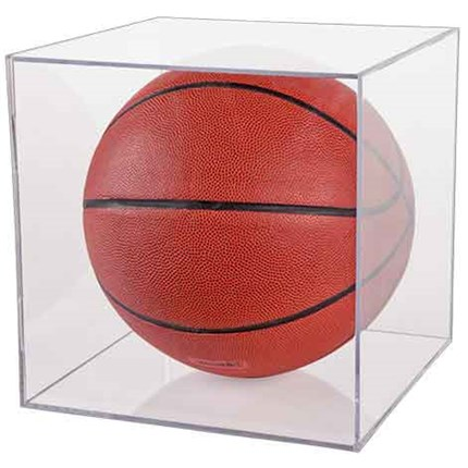 BALLQUBE DISPLAY CASES - SOCCER/BASKETBALL