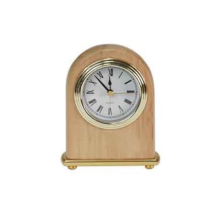 RED ALDER DESK CLOCKS