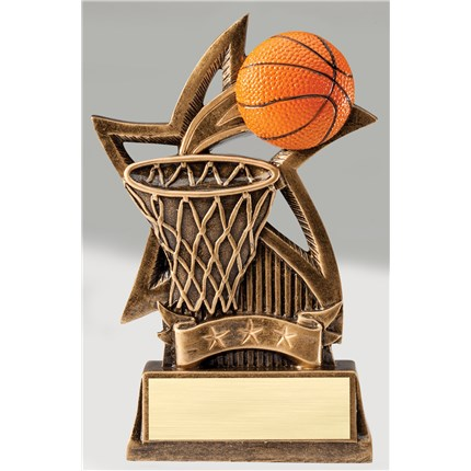BRONZE STAR RESIN SERIES - BASKETBALL