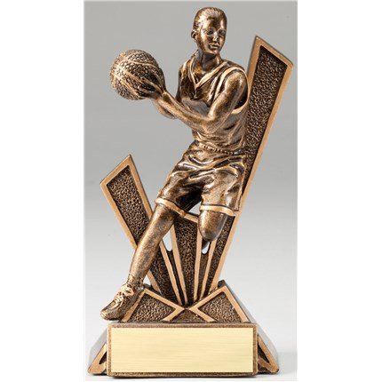 BRONZE CHECKMATE RESIN SERIES - BASKETBALL