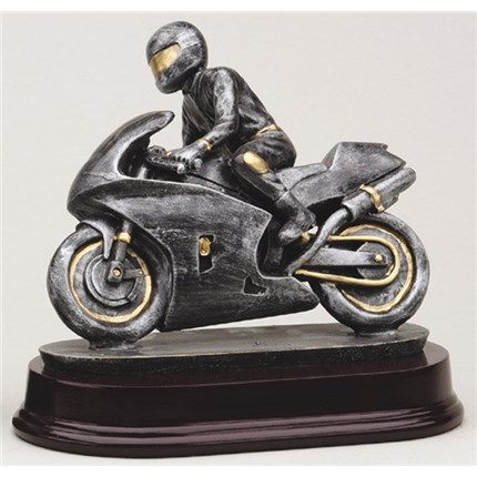 ANTIQUE ACTION RESIN SERIES - MOTORCYCLE