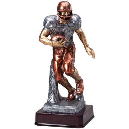 MULTI-COLOR STATUETTE RESIN SERIES - FOOTBALL