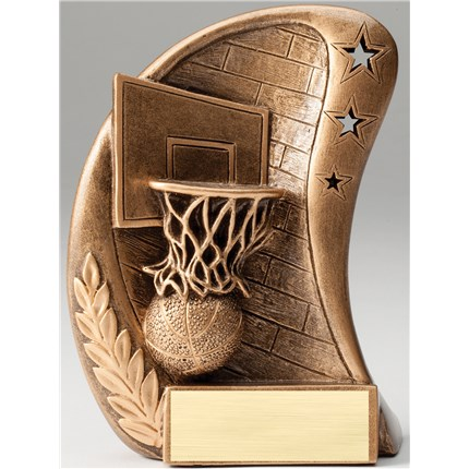 BRONZE CURVE RESIN SERIES - BASKETBALL