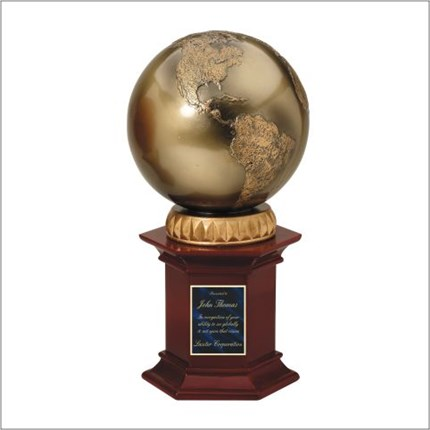 SPORT PEDESTAL RESIN SERIES - WORLD