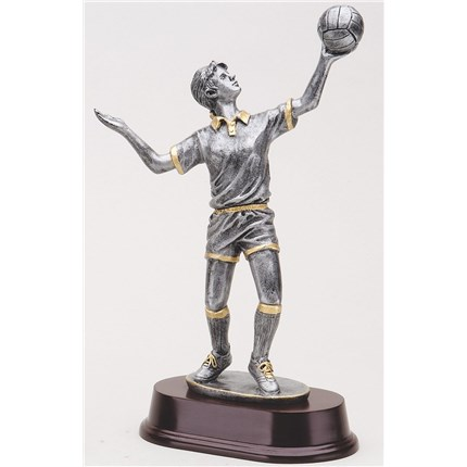 ANTIQUE ACTION RESIN SERIES - VOLLEYBALL, F