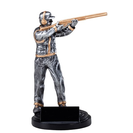 ANTIQUE ACTION RESIN SERIES - TRAP SHOOTER