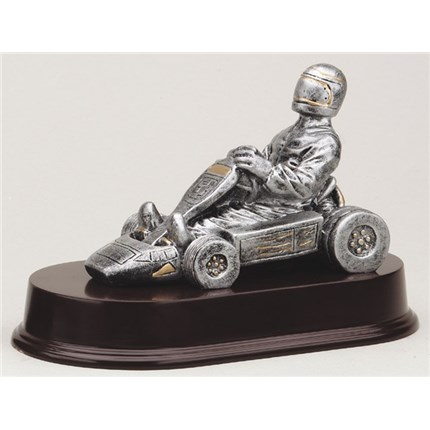 ANTIQUE ACTION RESIN SERIES - GO-KART