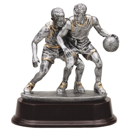 BASKETBALL Statue - Antique Action Series - 6.5