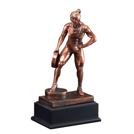 GALLERY SCULPTURE SERIES - WEIGHTLIFTING, F