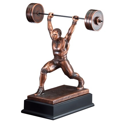 GALLERY SCULPTURE SERIES - WEIGHTLIFTING