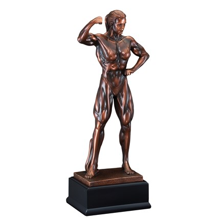 GALLERY SCULPTURE SERIES - BODY BUILDER, F