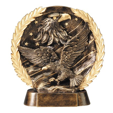 HIGH-RELIEF FIGURE RESIN SERIES - EAGLE