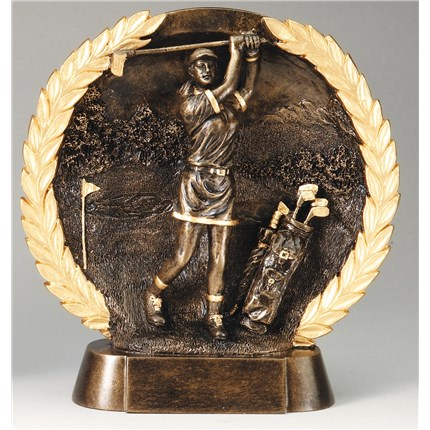 HIGH-RELIEF FIGURE RESIN SERIES - GOLF, F