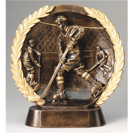 HIGH-RELIEF FIGURE RESIN SERIES - HOCKEY