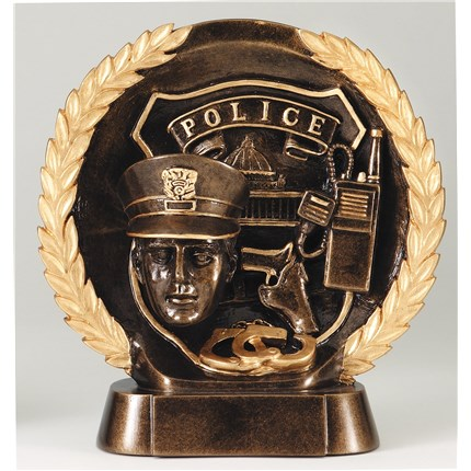 HIGH-RELIEF FIGURE RESIN SERIES - POLICE