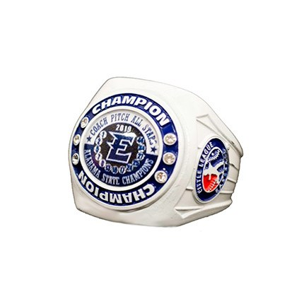 Little League White Ring Series Custom