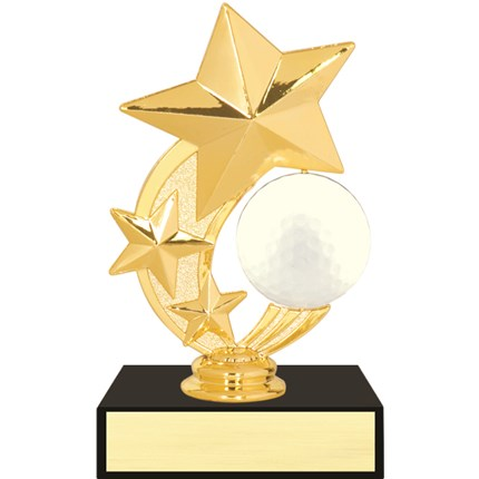 3 Star Spinner Trophy Series - Golf
