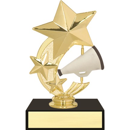 3 Star Spinner Trophy Series - Cheer