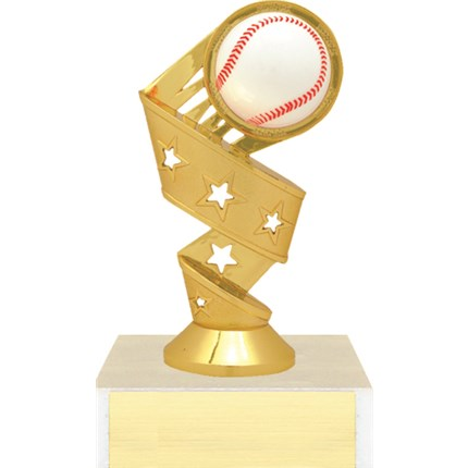 3D Twist Figure Trophy Series - Softball