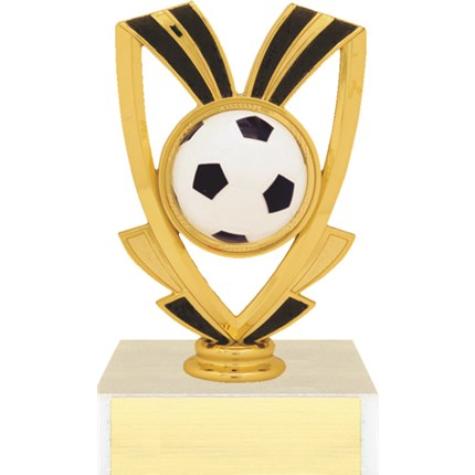 Ribbon Figure Trophy Series - Soccer