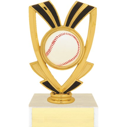 Ribbon Figure Trophy Series - Baseball