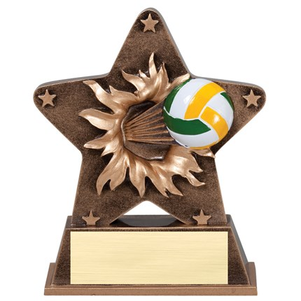 STARBURST RESIN SERIES - VOLLEYBALL