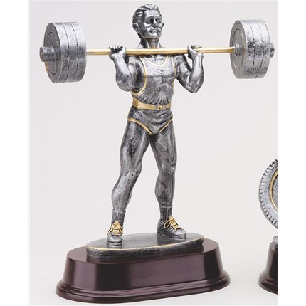 ANTIQUE ACTION RESIN SERIES - WEIGHTLIFTING, M