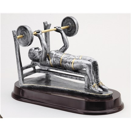 ANTIQUE ACTION RESIN SERIES - BENCH PRESS, F
