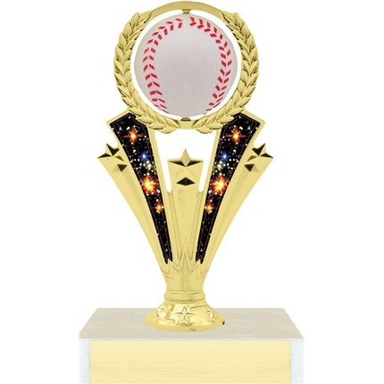 Spinning Ball Trophy Series - Baseball